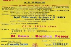 5 ING. GIANNI CARLUCCIO - TIP. BUTTAZZO - S. ORONZO (1986)