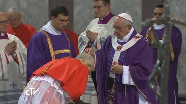 Risultati immagini per mercoledi ceneri papa francesco