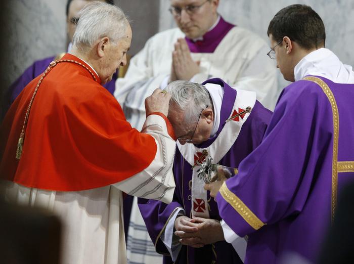 Risultato immagini per papa mercoledi delle ceneri